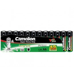 12 sztuk Camelion Super Heavy Duty 1.5V AA R6P, Mignon Battery